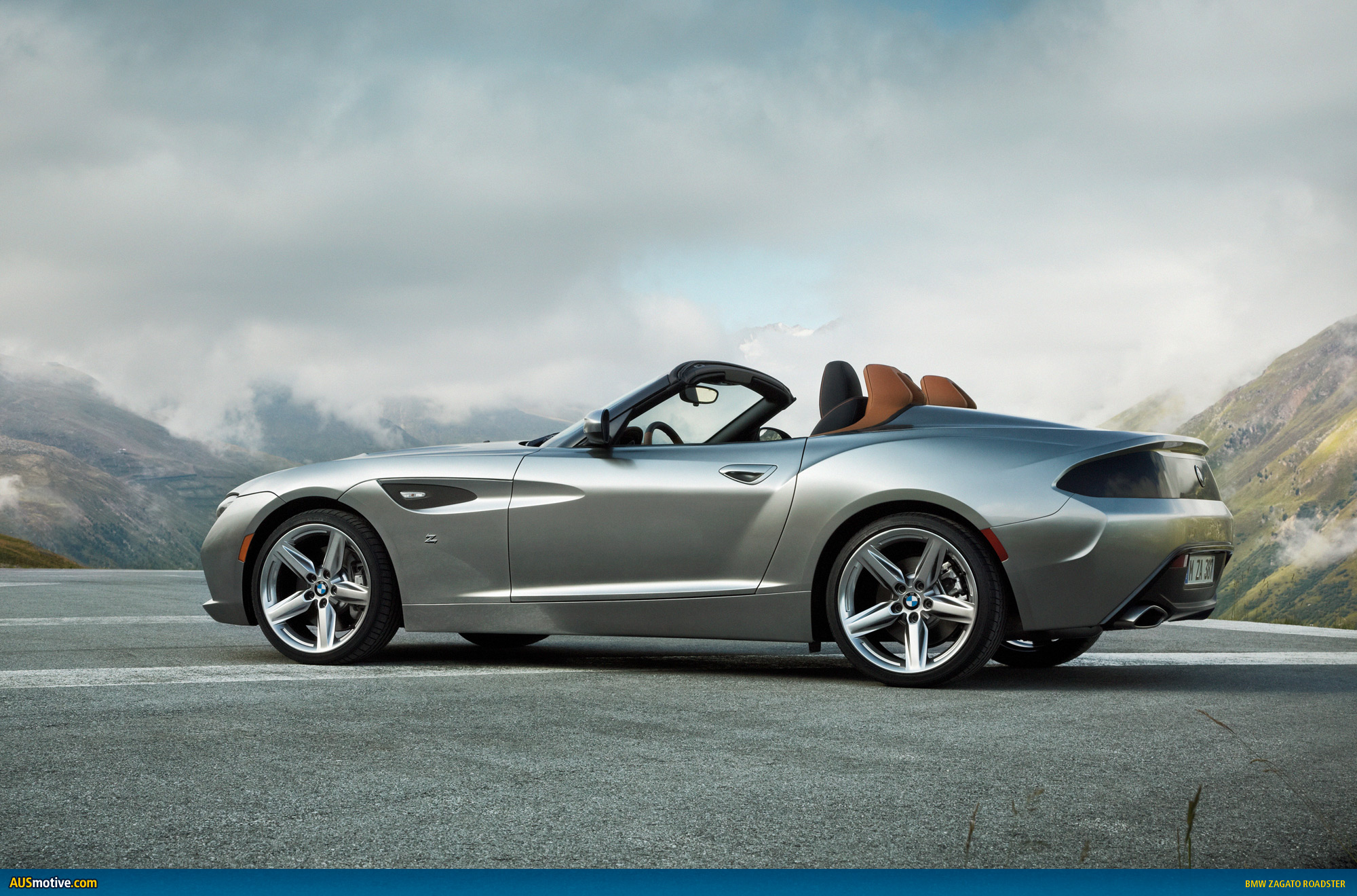 Ausmotive Com 187 Bmw Zagato Roadster Revealed