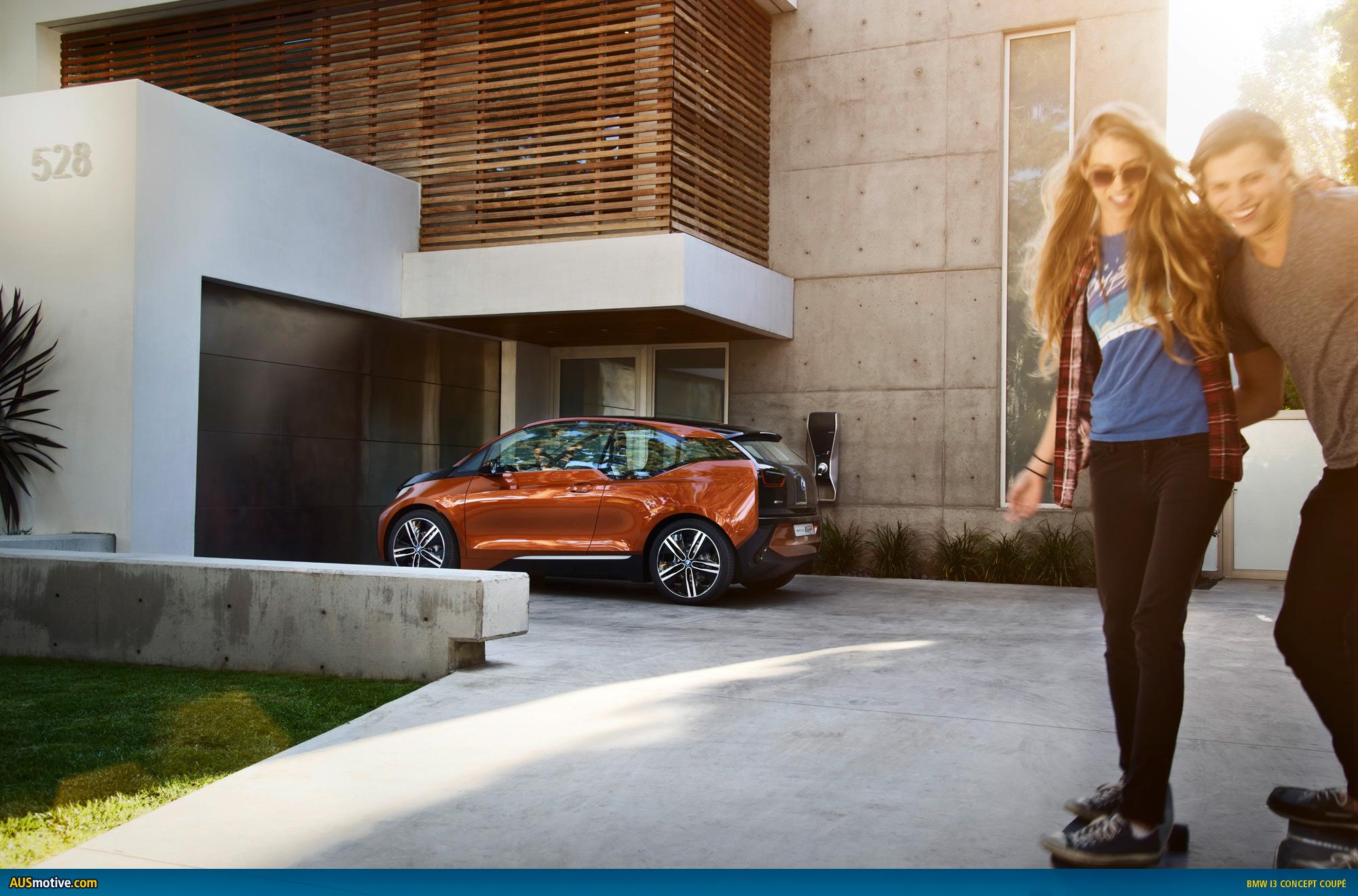 AUSmotive.com » LA 2012: BMW i3 Concept Coupé