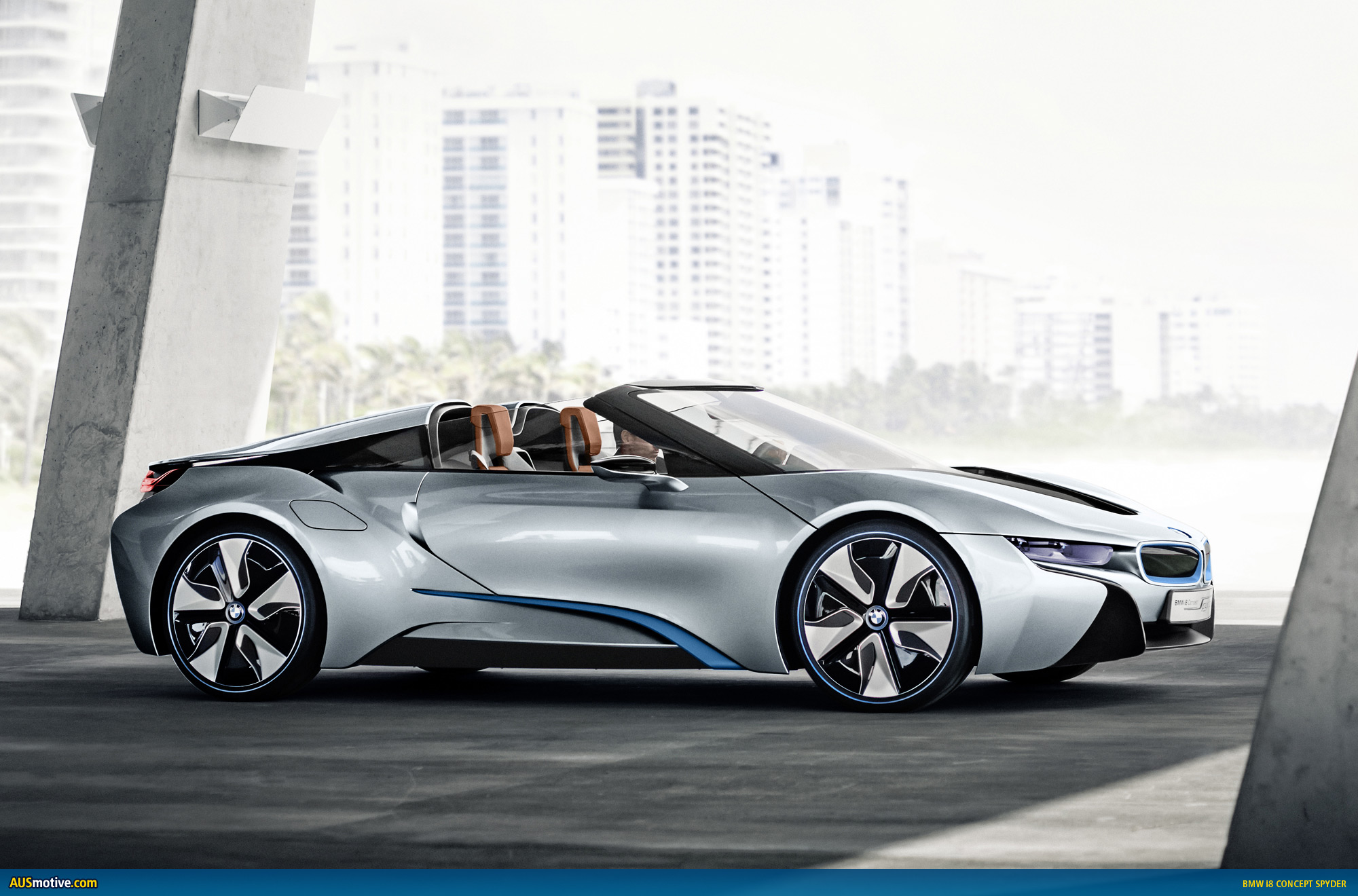 Ausmotive Com Bmw I8 Concept Spyder Revealed