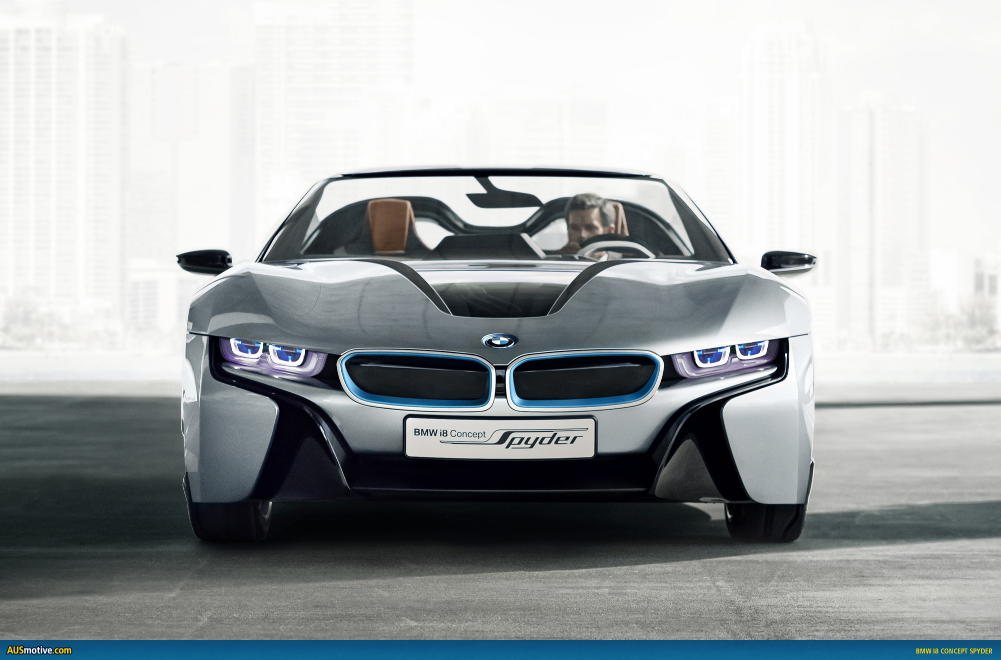 bmw i8 concept spyder revealed. Black Bedroom Furniture Sets. Home Design Ideas