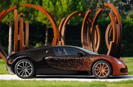 Bugatti Grand Sport Bernar Venet