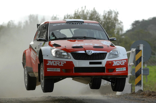 Chris Atkinson, Team MRF Skoda