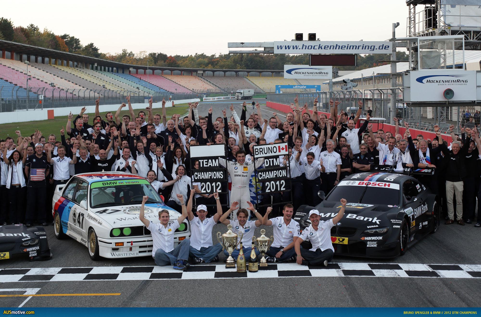 AUSmotive.com » BMW triple crown caps off dream DTM return