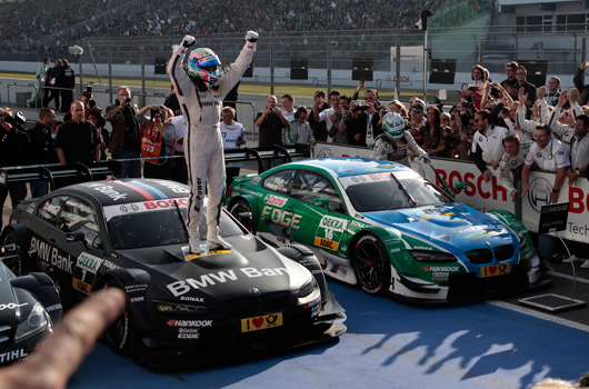 Bruno Spengler and BMW, 2012 DTM champions