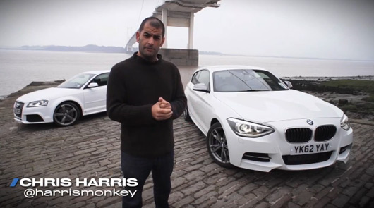 Chris Harris reviews the BMW M135i and Audi RS3