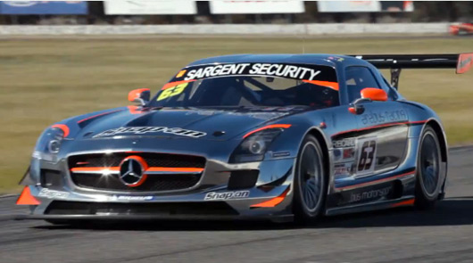 Erebus Racing Mercedes-Benz SLS AMG GT3