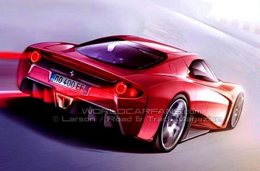 Ferrari F70 sketch