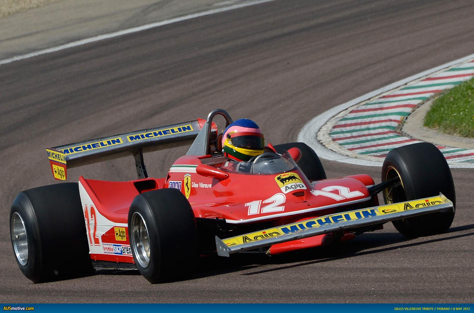 Champion Driving School >> AUSmotive.com » Ferrari remembers Gilles Villeneuve