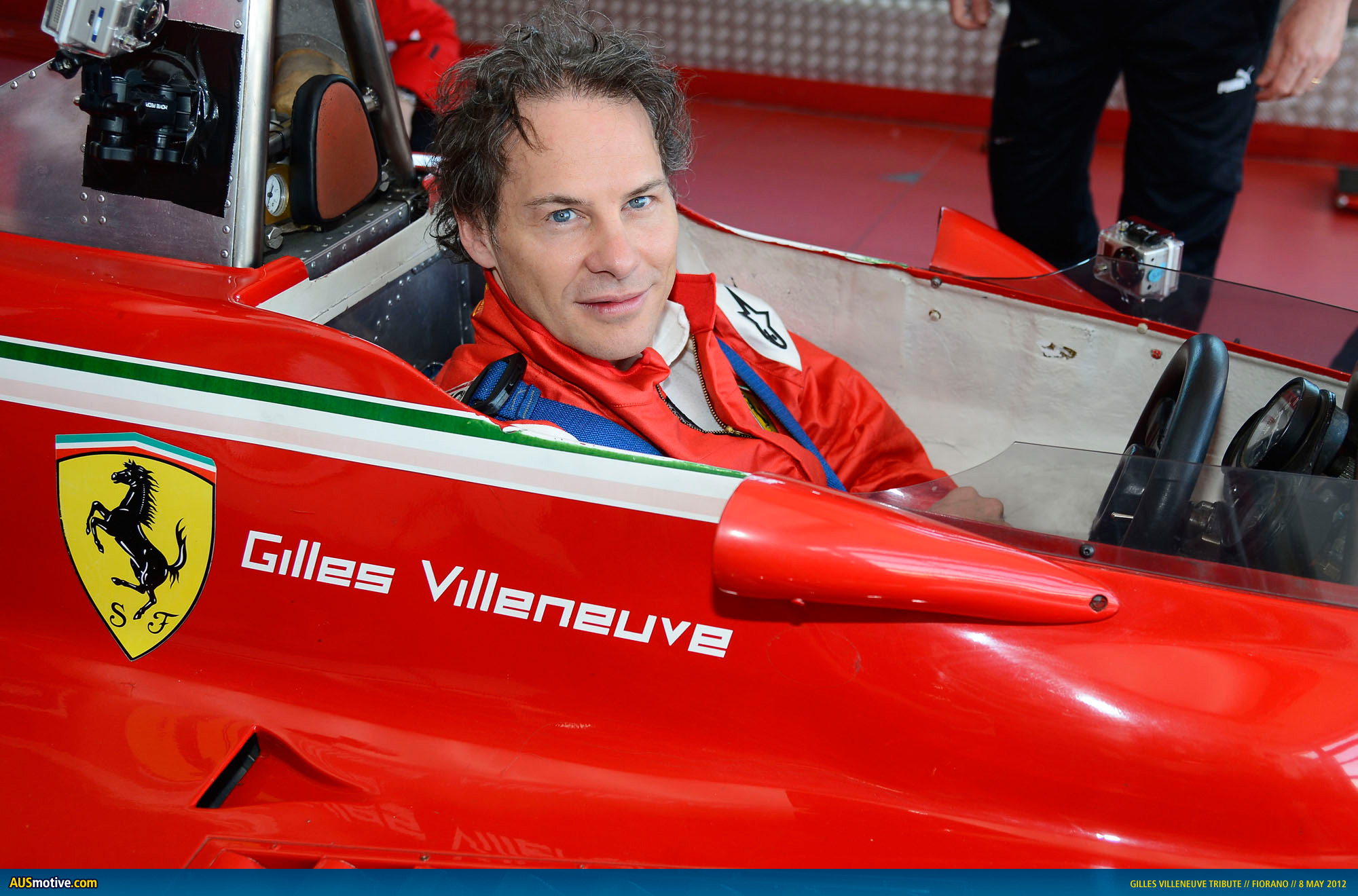 Ausmotive Com 187 Ferrari Remembers Gilles Villeneuve