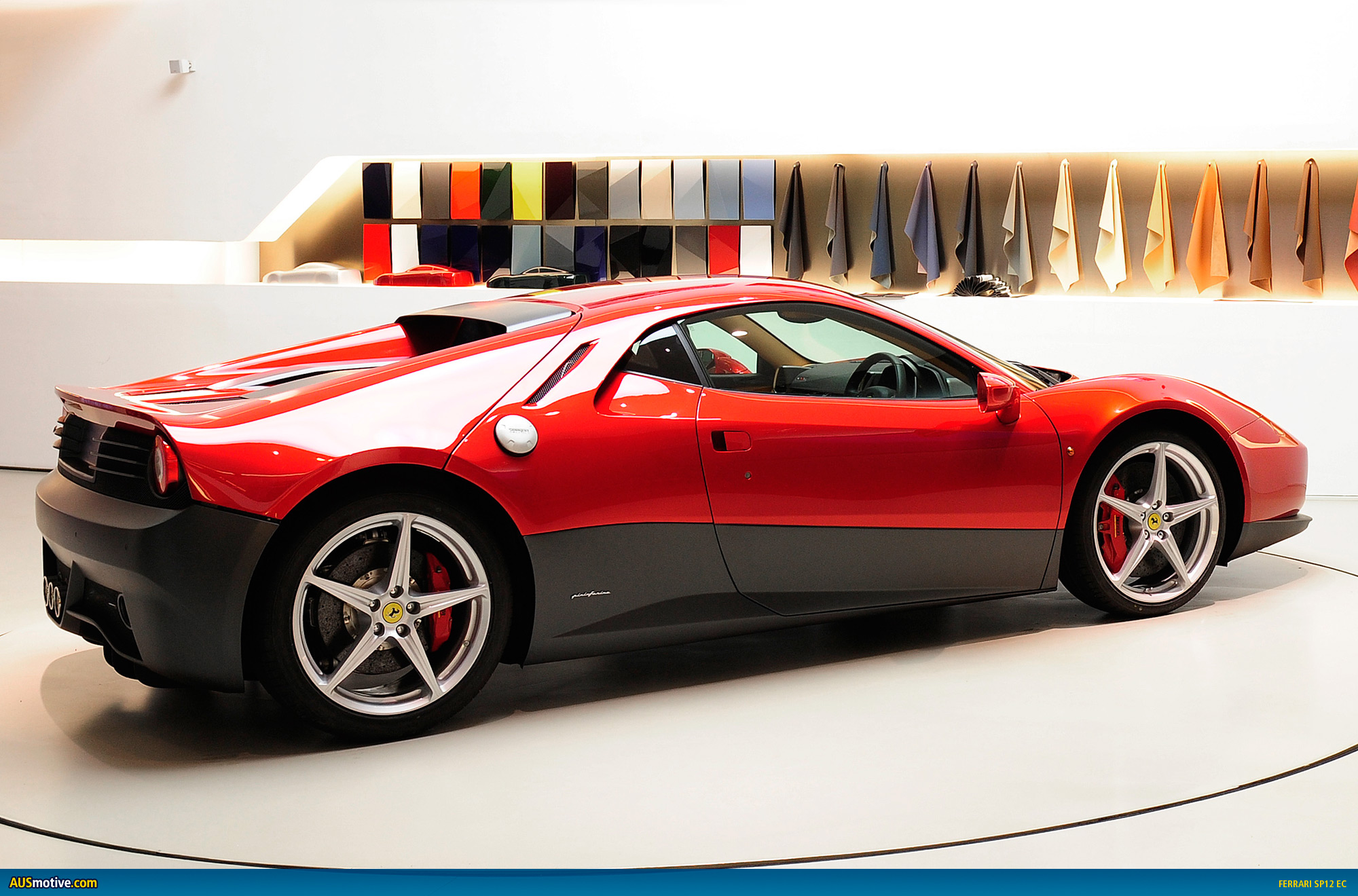eric clapton officially gets his ferrari sp12 ec. Black Bedroom Furniture Sets. Home Design Ideas