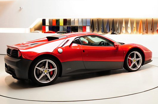 Ferrari SP12 EC made for Eric Clapton