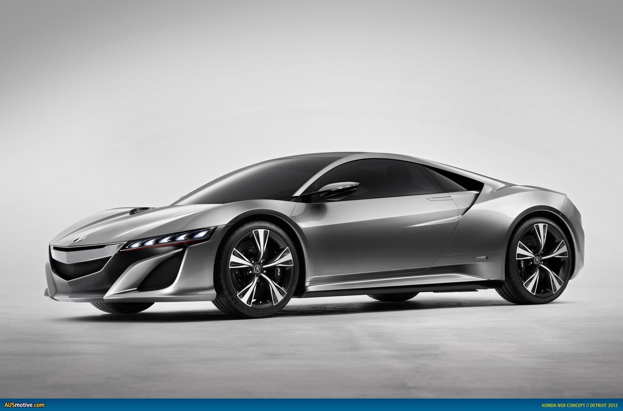 Ausmotive Com Detroit 2012 Honda Nsx Concept