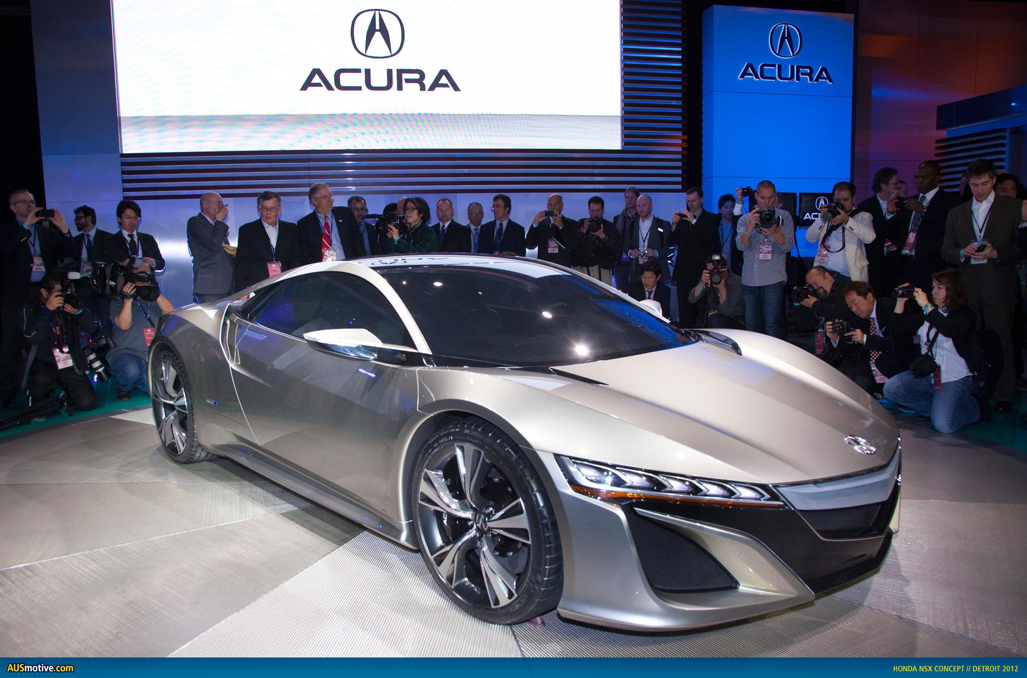 AUSmotive.com » Detroit 2012: Honda NSX Concept