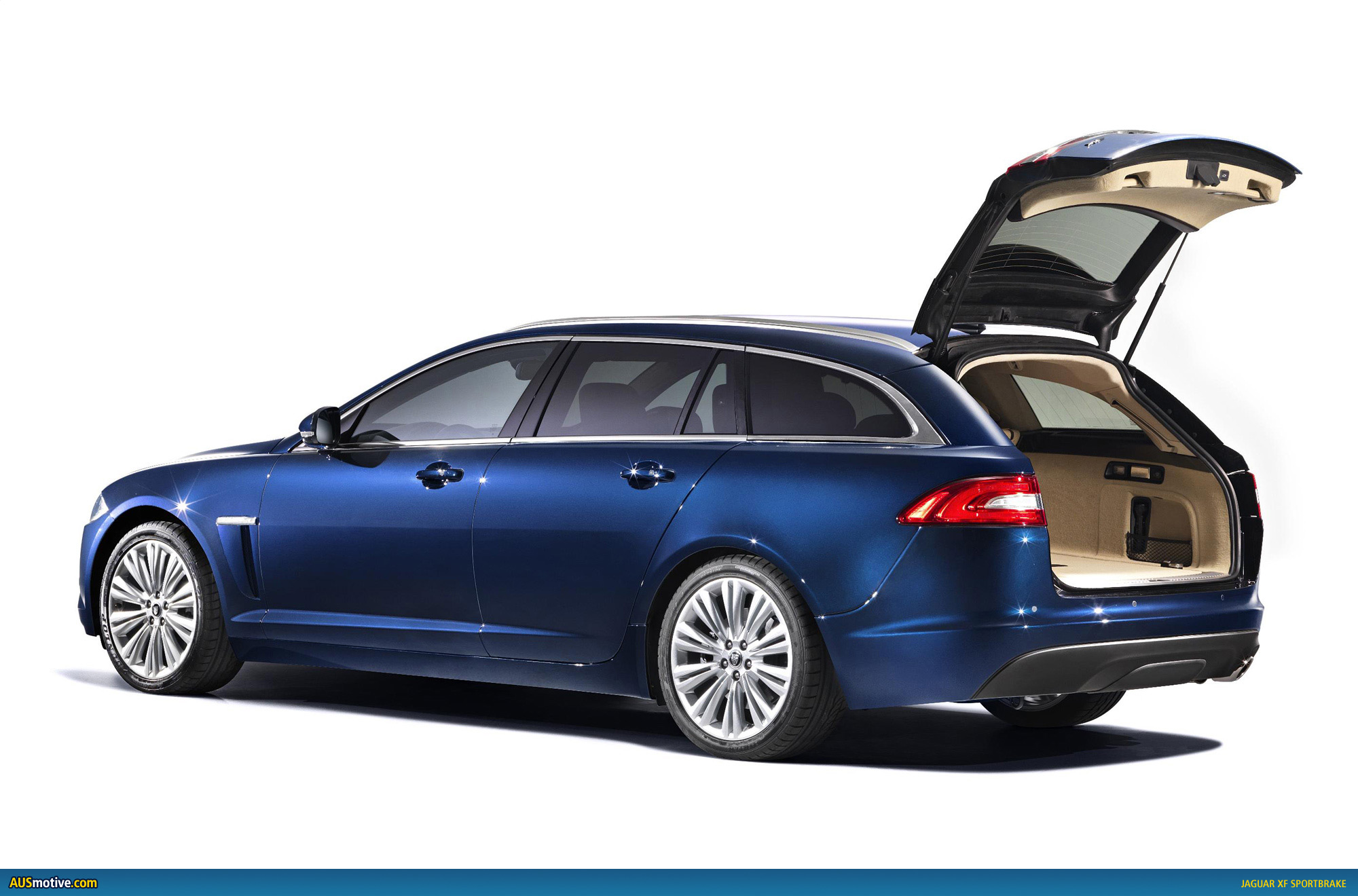 jaguar xf sportbrake revealed. Black Bedroom Furniture Sets. Home Design Ideas