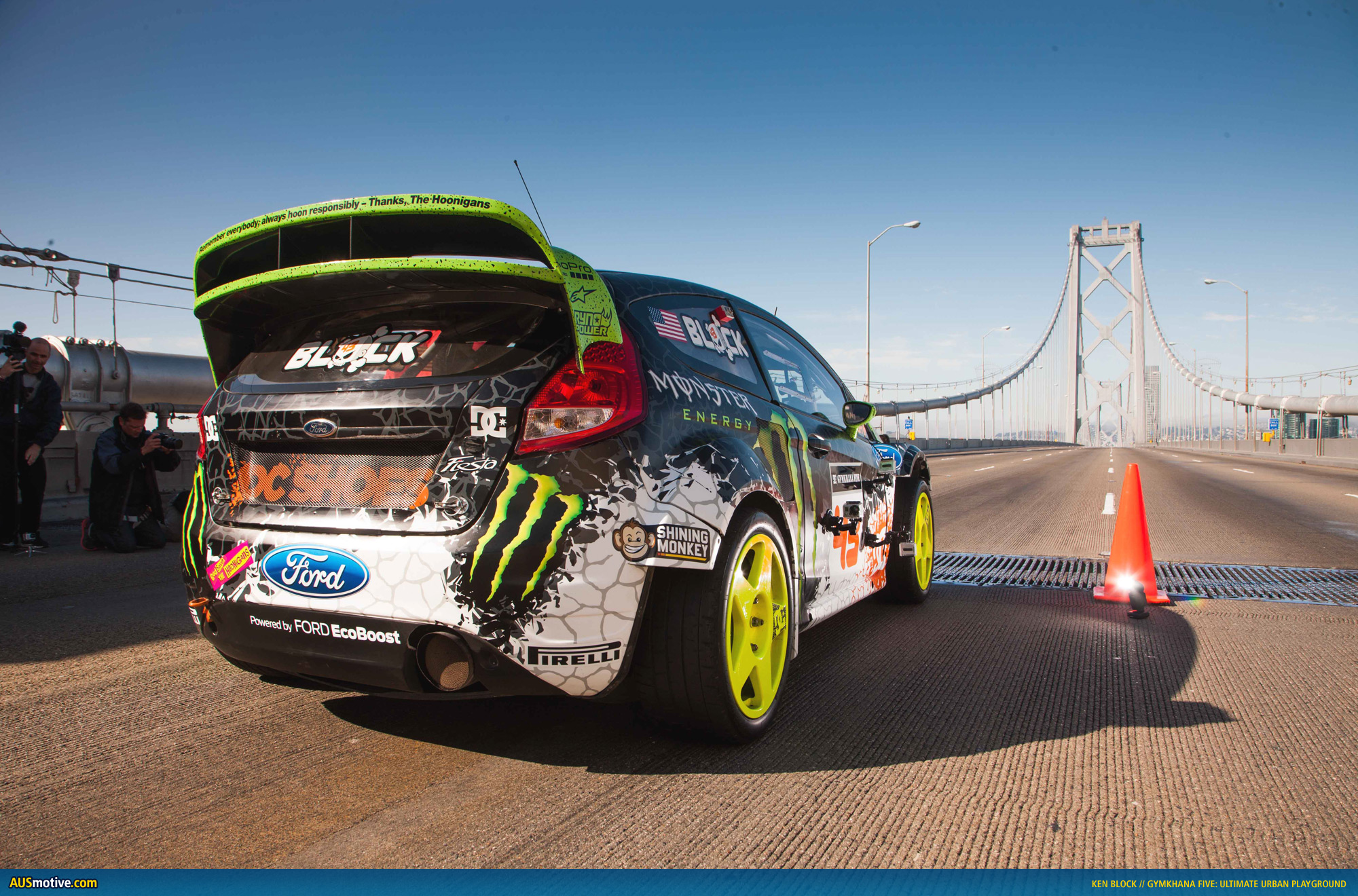 AUSmotive.com » Ken Block Gymkhana FIVE wallpapers
