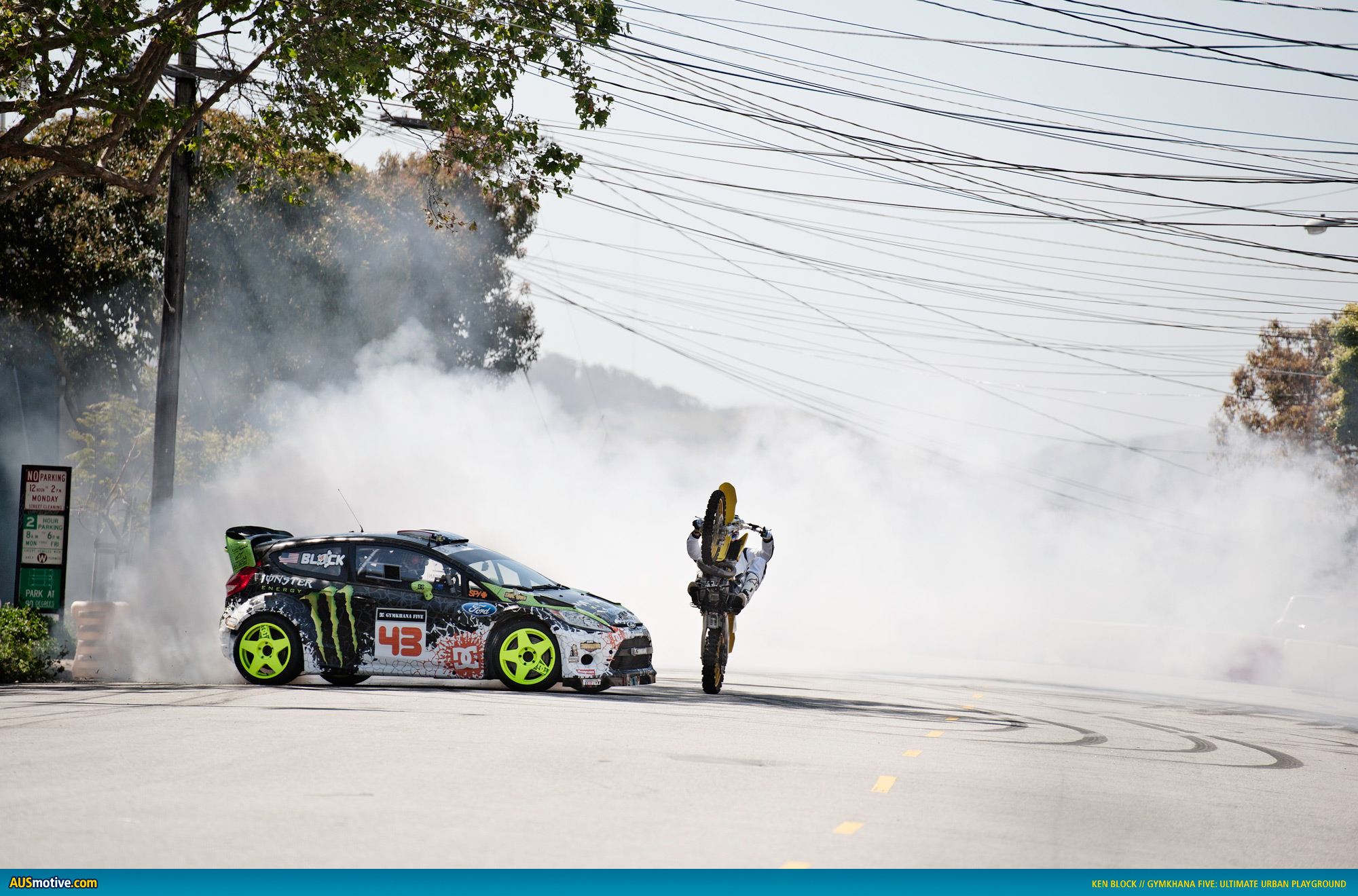 Ausmotive Com 187 Ken Block Gymkhana Five Wallpapers