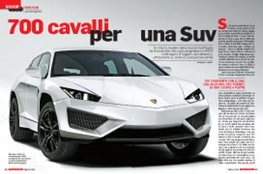 Lamborghini SUV rendering