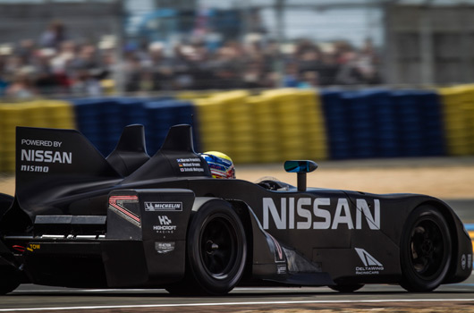 Nissan DeltaWing at 24 Hours of Le Mans