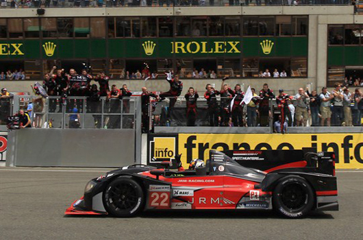 JRM Racing at 24 Hours of Le Mans 2012