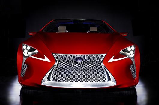 Lexus LF-LC hybrid sports coupe concept