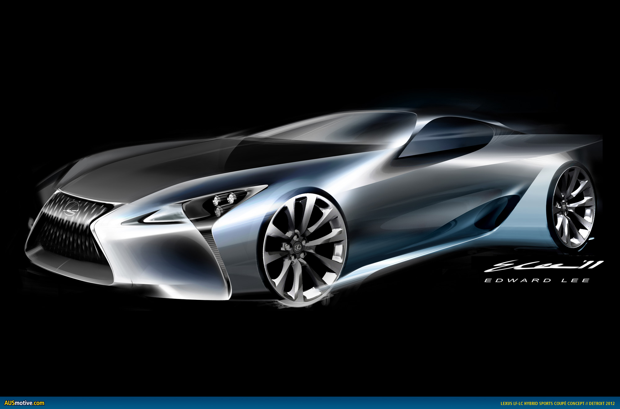 detroit 2012 lexus lf lc concept. Black Bedroom Furniture Sets. Home Design Ideas