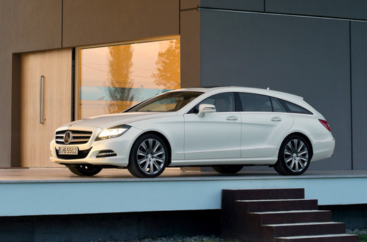 Mercedes-Benz CLS Shooting Brake revealed - Ausmotive.com
