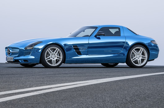 Mercedes-Benz SLS AMG Coupe Electric Drive