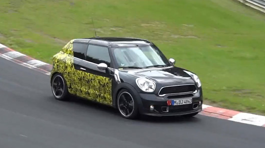 MINI Paceman, Nurburgring, July 2012