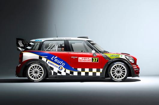 Mini wrc team ready for monte carlo rally for Garage mini monaco