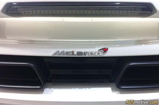 McLaren MP4-12C at Trivett Sydney