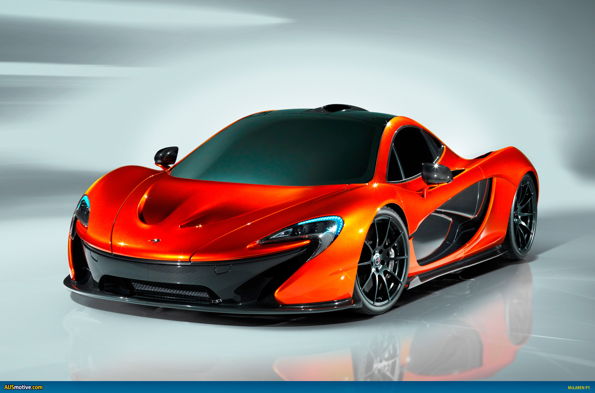 this is the mclaren p1 and it s here to make a statement the