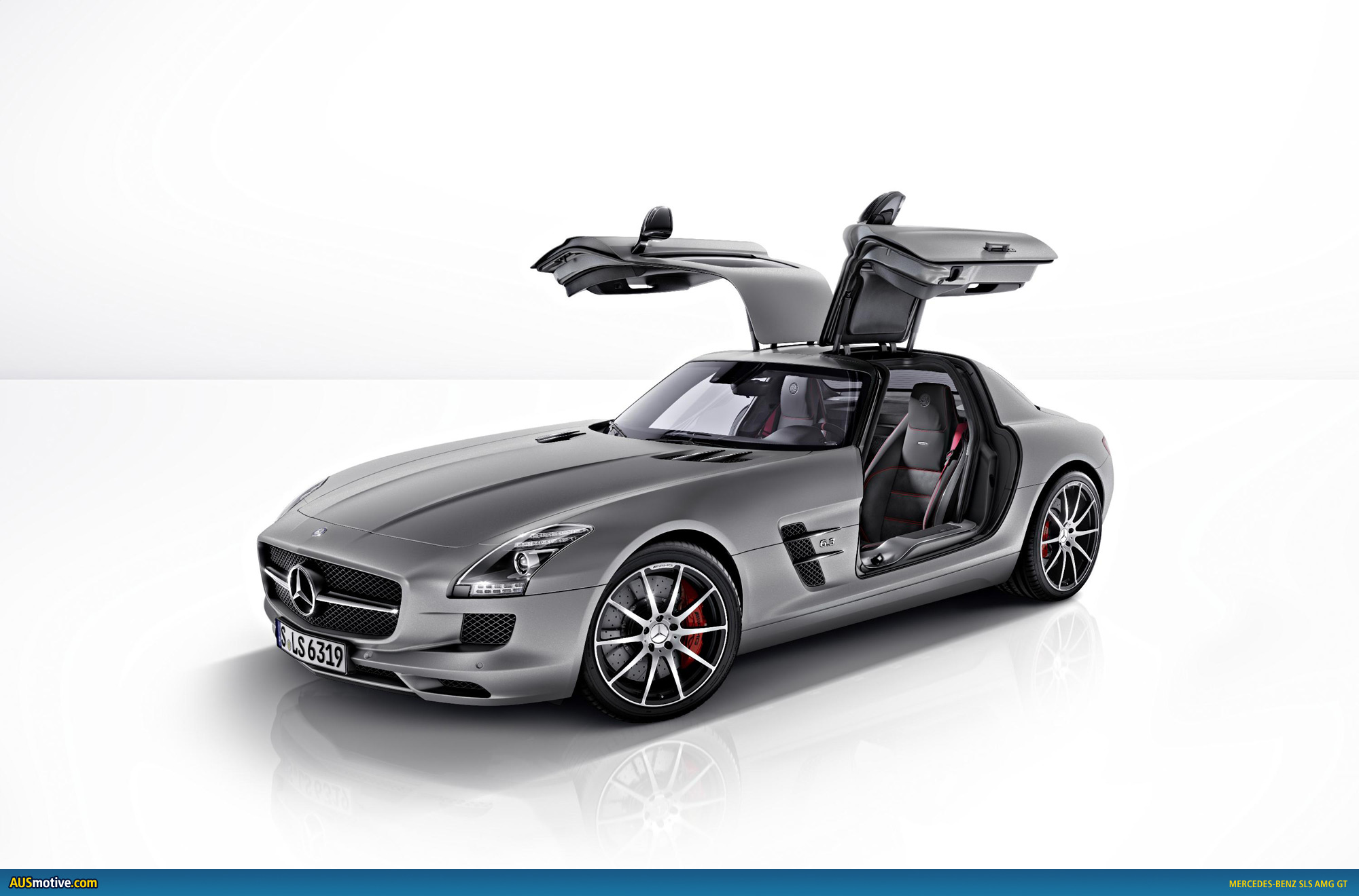 mercedes benz sls amg gt revealed
