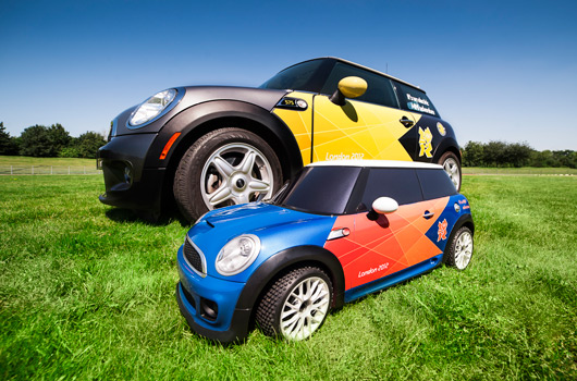 Mini MINI at the London 2012 Olympic Games