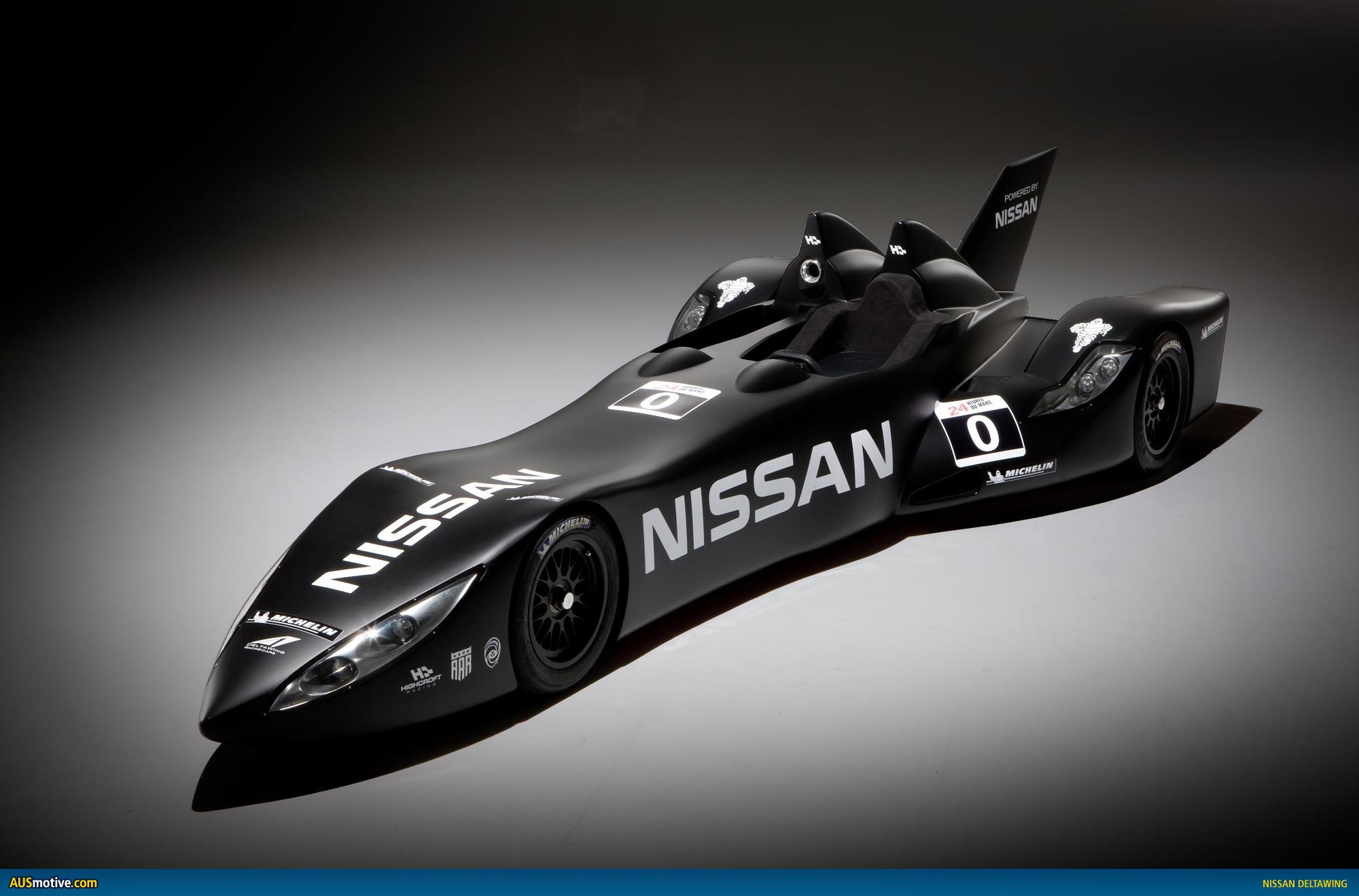 nissan deltawing brings batmobile to life. Black Bedroom Furniture Sets. Home Design Ideas