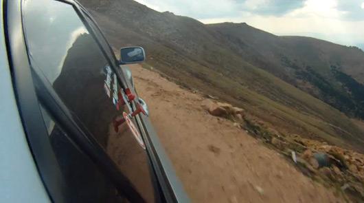 Jeremy Foley crash at 2012 Pikes Peak International Hill Climb