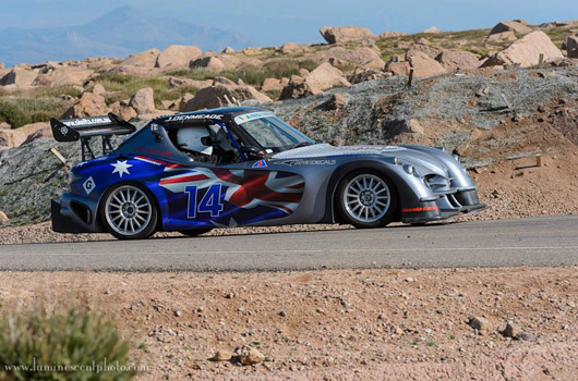 Jeff Denmeade, 2012 Pikes Peak International Hill Climb
