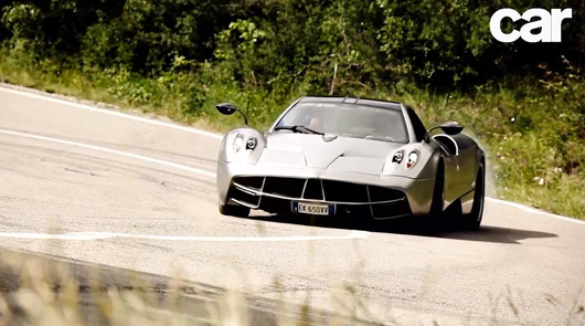 Pagani Huayra video review
