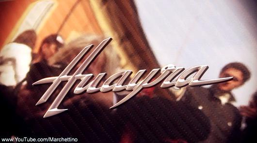 Pagani Huayra