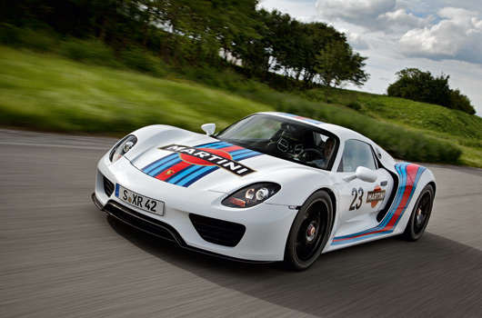 Porsche 918 Spyder provisional specifications - Ausmotive.com
