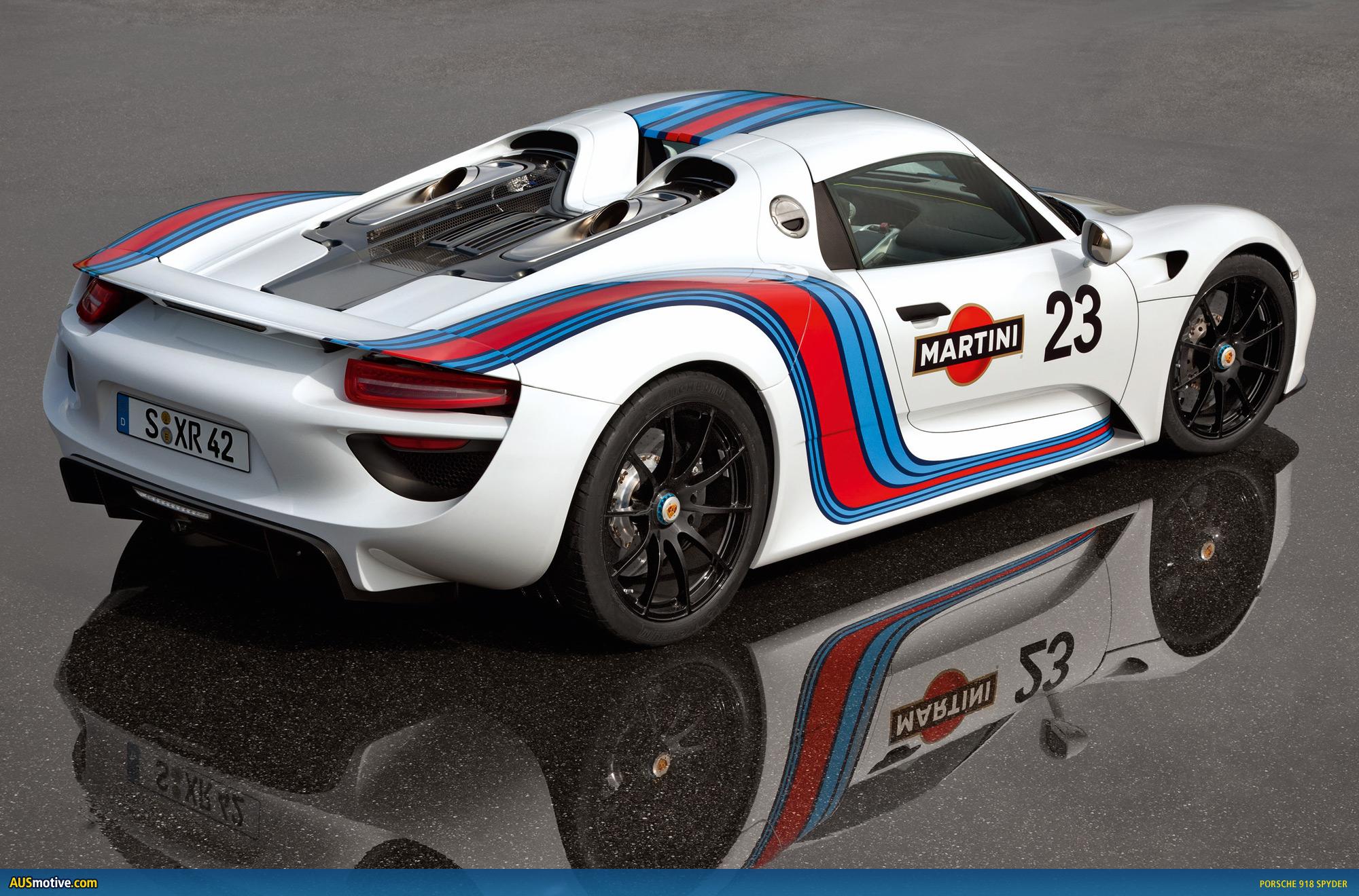 Porsche-918-Spyder-Martini-05 Marvelous Porsche 918 Spyder Hybrid Prezzo Cars Trend