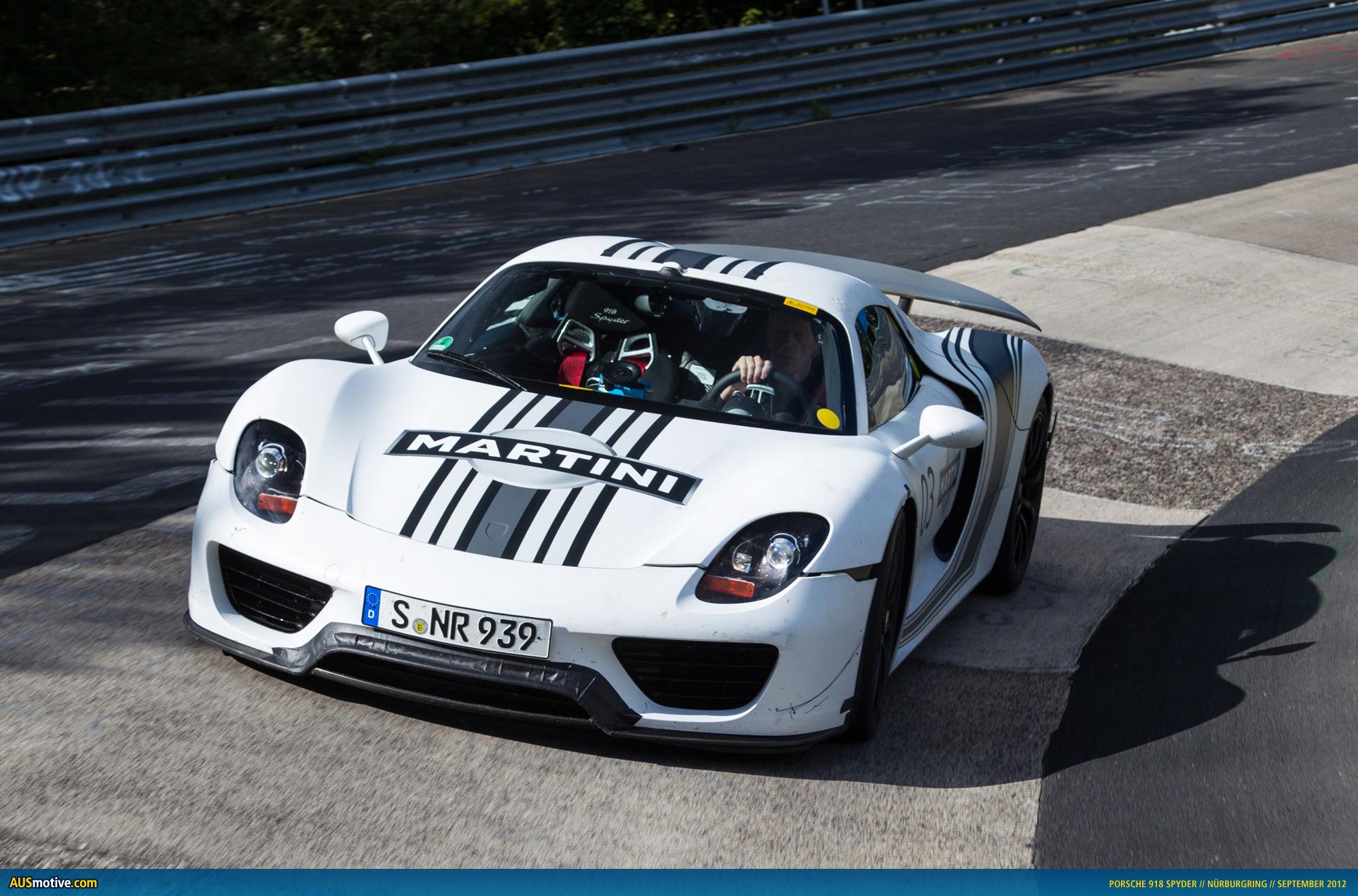 porsche 918 spyder prototype - Porsche 918 Production Wallpaper