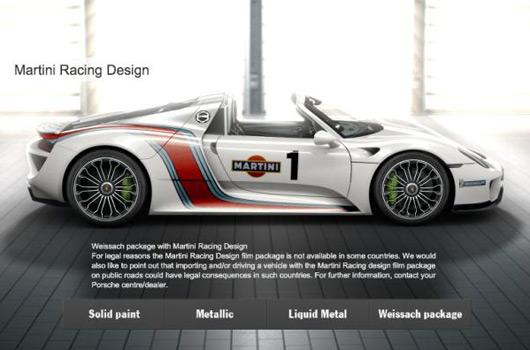 Porsche 918 Spyder Brochure