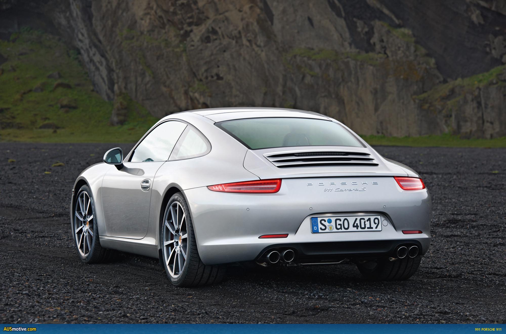 AUSmotive.com » 991 Porsche 911 Image Gallery