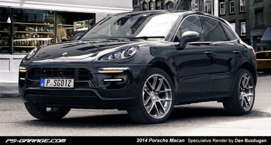 Porsche Macan rendering
