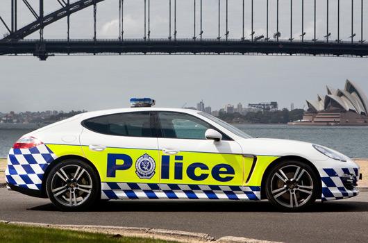 AUSmotive com » NSW Police secure Porsche Panamera