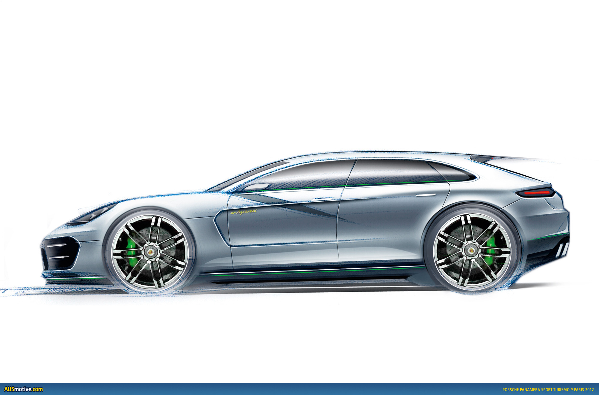 Ausmotive Com 187 Paris 2012 Porsche Panamera Sport Turismo