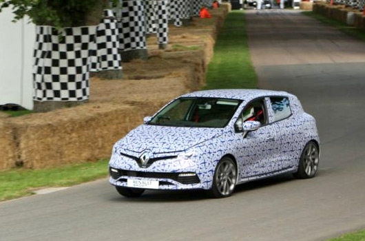 Renault Clio IV RS at 2012 Goodwood FoS - Ausmotive.com
