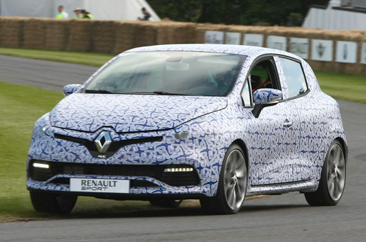 Renault Clio IV RS at Goodwood Festival of Speed