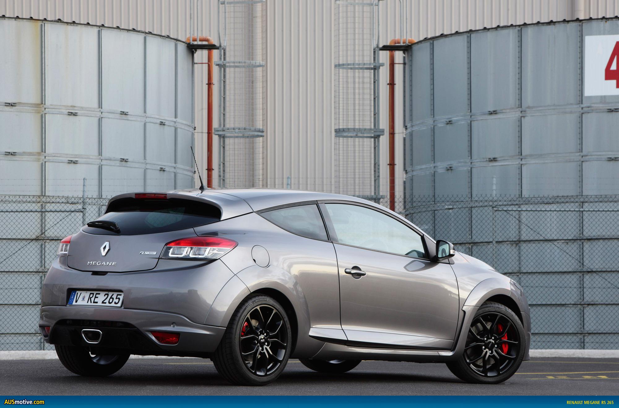 ausmotivecom 187 renault megane rs 265 � australian pricing