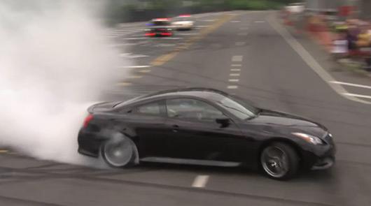 Sebastien Vettel, Inifiti G37 Coupe